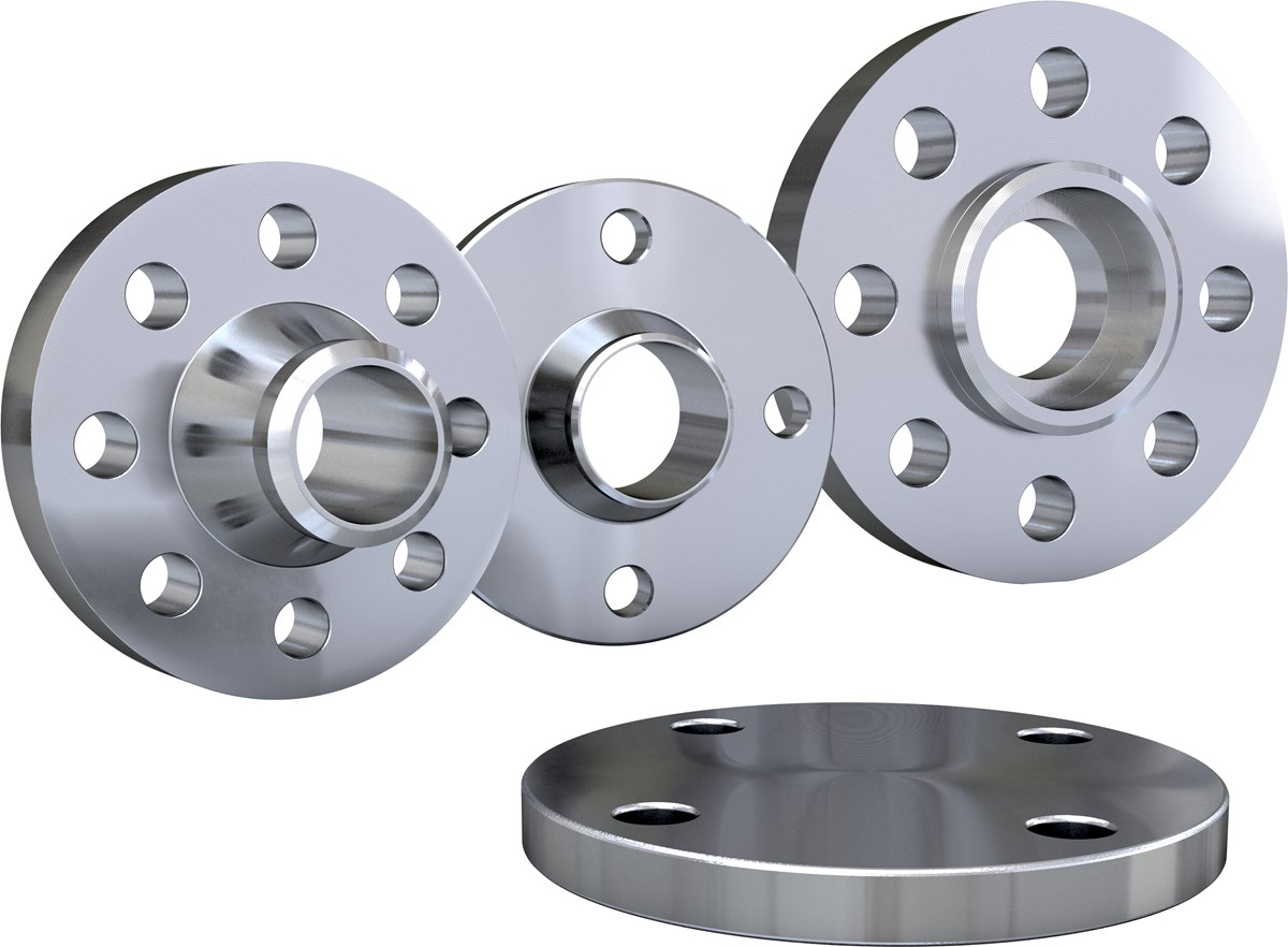 Flanged Pipe Fittings : Stainless steel flanges acc to ansi asme and en — sandvik